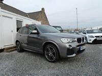 2015 (15) BMW X3 xDrive20d M-Sport Step Auto 2.0TD ( 190 bhp )