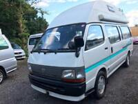 Rust Free TOYOTA HIACE HIGH TOP FRESH IMPORT 4 BERTH LWB CAMPERVAN