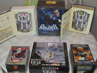 Robotech and Marvel Action Figures