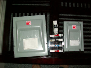 ELECTRICAL BREAKER PANELS(comes with free breakers)