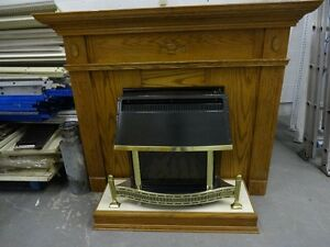 Mantel and Fireplace