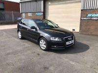 2011 61 AUDI A3 1.6 TDI SE SPORTBACK TRONIC AUTOMATIC,ONLY 53000 MILES WITH FSH