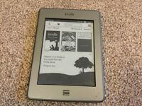 "Amazon Kindle 6"" display screen. Model D01200. New lower price"