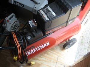 Compressor Craftsman 5hp/25gal. moving June 4th must sell