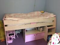 Girls Cabin bed with storage