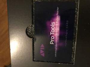 Protools 12 Software with ilok3 serial USB