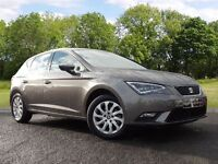 SEAT Leon 1.6 TDI SE (Tech Pack) 5dr (start/stop) (grey) 2016
