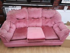 1 sofa and 1 sofa chair