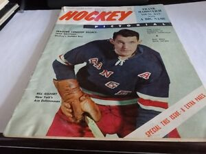 Vintage hockey magazines