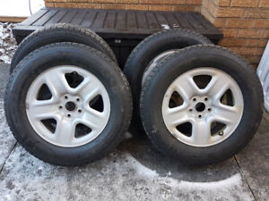 Michelin X-ICE Winter Tires and rims 235/65 R17