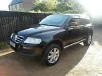 2005 Volkswagen Touareg 2.5TDI auto Sport 4x4 Diesel Part ex and cards welcome