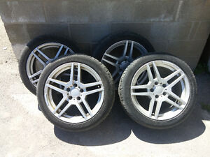 Mercedes Winter TIRES & RIMS 225/45 R17