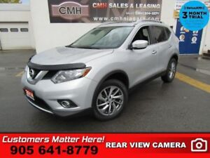 2014 Nissan Rogue SL  AWD LEATHER ROOF CAM BOSE PWR-GATE HS P/SE