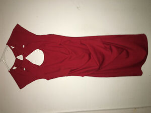 Red le chateau dress