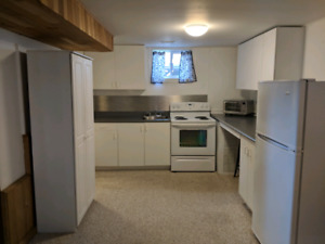 1 bedroom basement apartment Algonquin ave