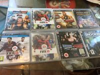 Eight PS3 games discs all good condition