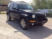 2003 Jeep Liberty Saftied