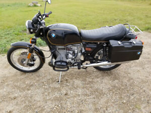 BMW r100s motorcycle