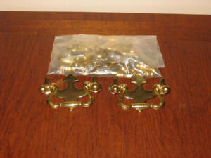 Various Metal and Wood Bail Cabinet Drawer Pulls / Handles