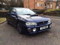 1999 SUBARU IMPREZA TURBO 2000 AWD BLUE TURBO/MODIFIED/TRACK 87K