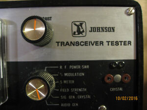 RARE JOHNSON TRANSCEIVER TESTER HAM RADIO OR CB RADIO Edmonton Edmonton Area image 3
