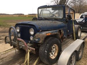 1979 jeep CJ 4x4 ,parting out only