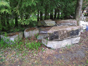 Landscaping Armour  stone for sale