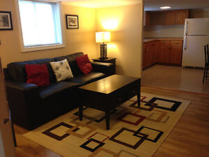 BEAUTIFUL FURNISHED & DECORATED 1 BDRM + DEN