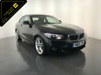 2015 BMW 220I M SPORT COUPE 1 OWNER FROM NEW FINANCE PX WELCOME