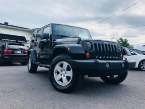 Jeep Wrangler Unlimited SAHARA TRAIL-RATED 2007