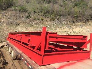 FOR SALE  30 FT LONG PORTABLE TRUCK WEIGHT SCALE