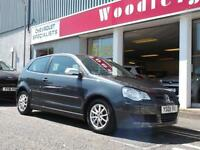 08 VW POLO 1.4 TDI BLUEMOTION TECH2,3 DOOR, FINANCE AVAILABLE