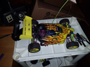 250 OBO 2 gas powered nitro rc cars
