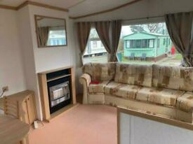 Static caravan willerby Henley for sale on a park by the beach in (Lancashire)