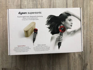 Dyson Supersonic Hair Dryer – Especial Edition with gold case