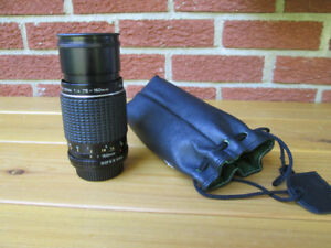 PENTAX ZOOM 75-150 mm 1:4 superbe condition