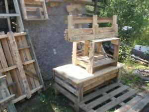 Wood  pallets  furniture