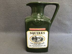 Collectible Antique Squires Distilled London Dry Gin Pitcher London Ontario image 3