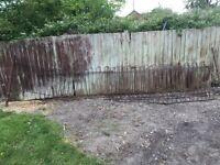 Iron fencing
