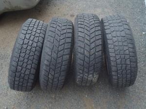 4-205/70R15 Winter Tires
