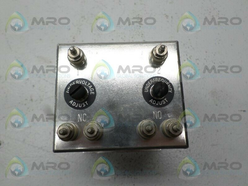 WILMAR 20-050-19PX FREQUENCY RELAY 120V * USED *