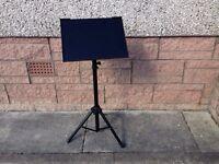 Music Sheet Stand - Tripod - VGC