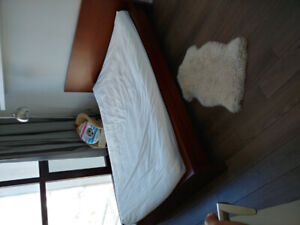 Malm double bed for sale
