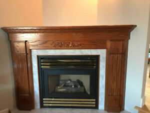 Fireplace Corner Mantel