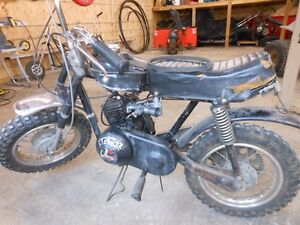 Rupp Black Widow Mini Bike