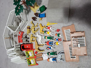 Vintage playmobil Zoo