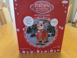 """CHRISTMAS RUDOLPH INFLATABLE """"BRAND NEW"""""""