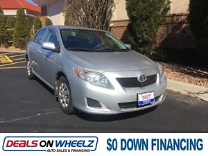 2010 Toyota Corolla     FINANCING AVAILABLE !