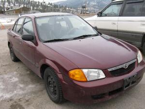 1999 Mazda Protege Auto