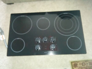 Ceramic Cooktop Black 5 Burner